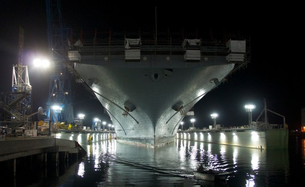 U.S. Navy's Complete 30-Year Shipbuilding to Hill