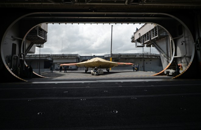 Navy Makes History With Unmanned Carrier Launch