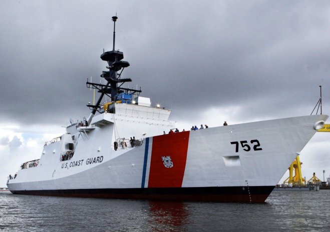 Coast Guard Issues $76.8 million Long Lead Option for NSC