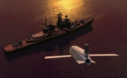 Lockheed Martin artist's conception of the Long Range Anti-Ship Missile (LRASM). Lockheed Martin Photo