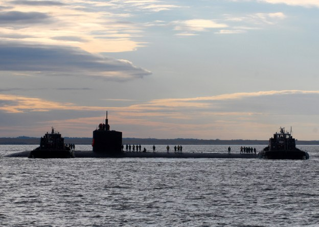 USS Boise (SSN-764) returns to its homeport of Norfolk in 2010. US Navy Photo