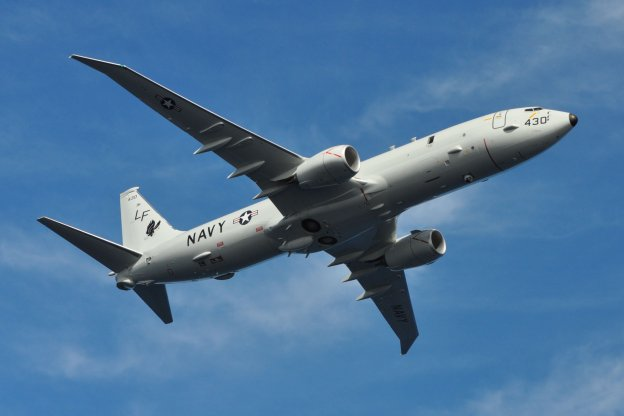 P-8A Poseidon, operated by Patrol Squadron (VP-16) in February, 2013. US Navy Photo