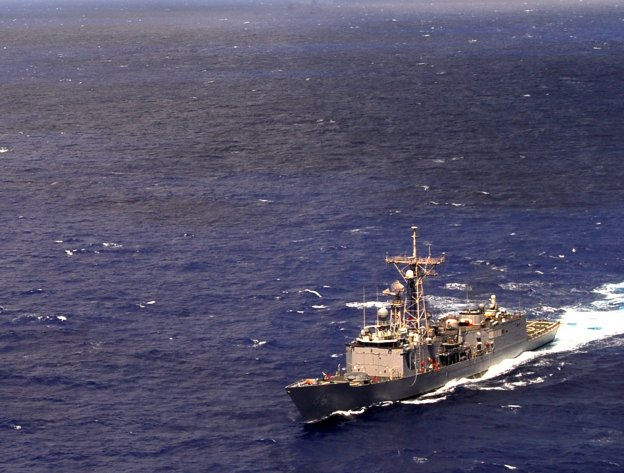 USS Rentz (FFG-46) in 2009. US Navy Photo