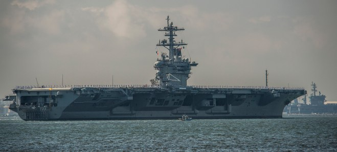 Carrier Theodore Roosevelt Rejoins the Fleet