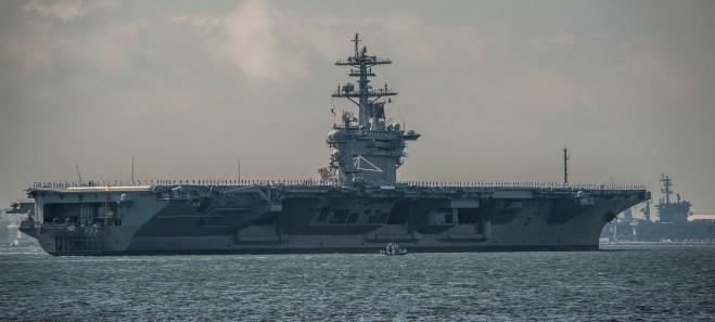 Carrier Theodore Roosevelt Rejoins the Fleet