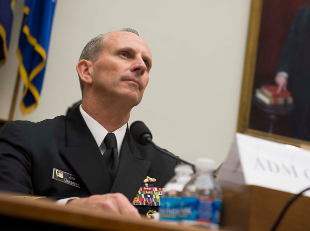 Chief of Naval Operations (CNO) Adm. Jonathan Greenert testifies before the House Armed Services Committee on Sept. 18, 2013. US Navy Photo