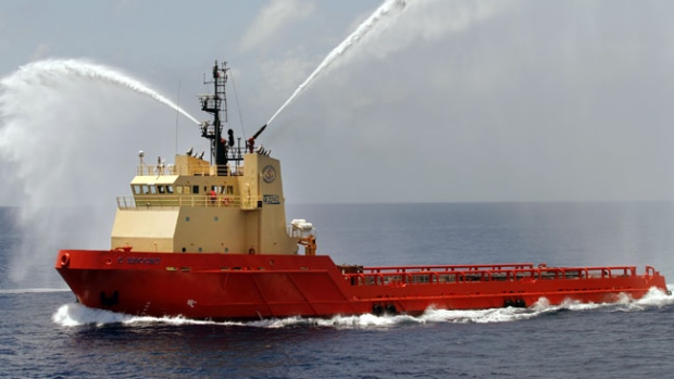 C-Escort, owned by Edison Chouest Offshore of Cut Off, La., is a sistership to the C-Retriever. American crew from the C-Retriever were kidnapped by Nigerian pirates on Oct. 23, 2013.