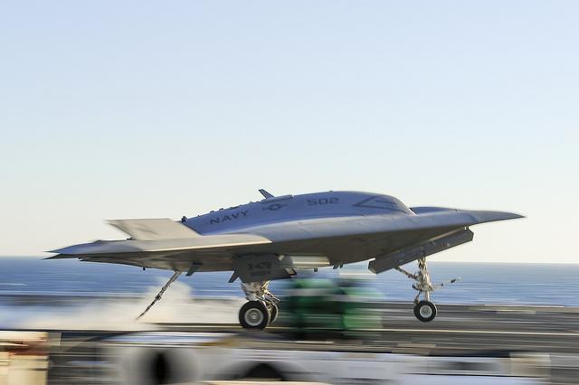 Navy Restarts X-47B Carrier Testing
