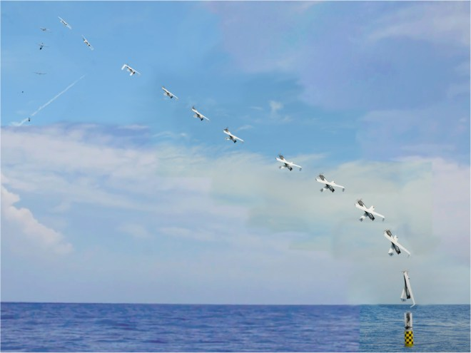 U.S. Navy Launches UAV from a Submarine