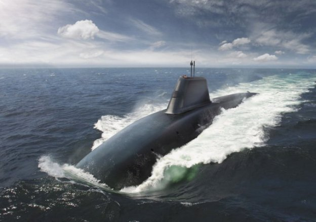 An artist's conception of the U.K.'s Successor-class future planned ballistic missile submarine (SSBN) released Tuesday. UK Ministry of Defense Photo