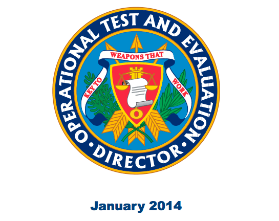 Document: Pentagon's 2013 Director, Operational Test & Evaluation Report