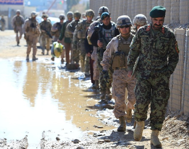 Marine Commandant: U.S. Can 'Ill Afford to Simply Pull Out' of Afghanistan