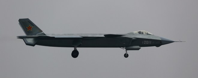 China Unveils More Capable Stealth Fighter Prototype