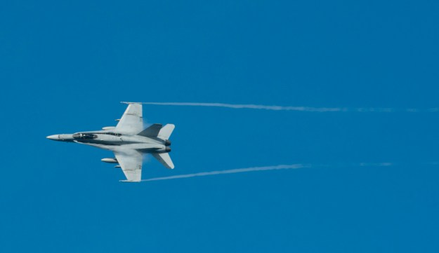 F/A-18C Hornet. US Navy Photo