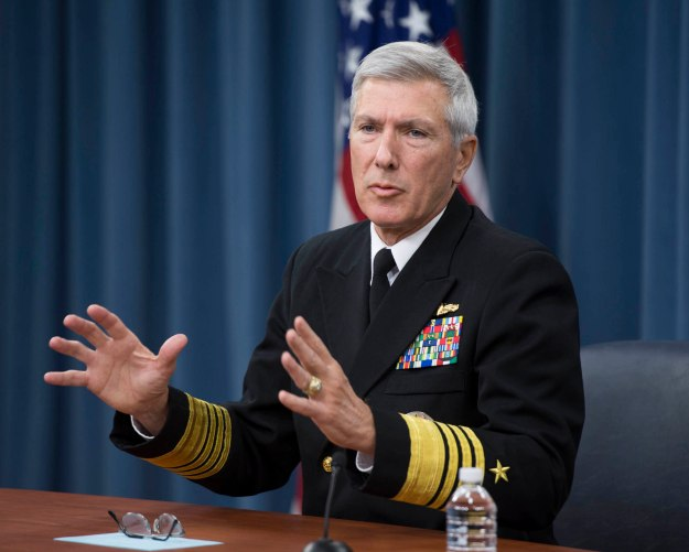 Adm. Samuel J. Locklear III, commander of U.S. Pacific Command. US Navy Photo.