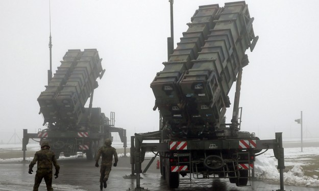 PAC-2 Patriot missile battery