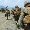 Philippine and U.S. Marines  participating as part of Exercise Balikatan 2013. US Marine Corps Photo