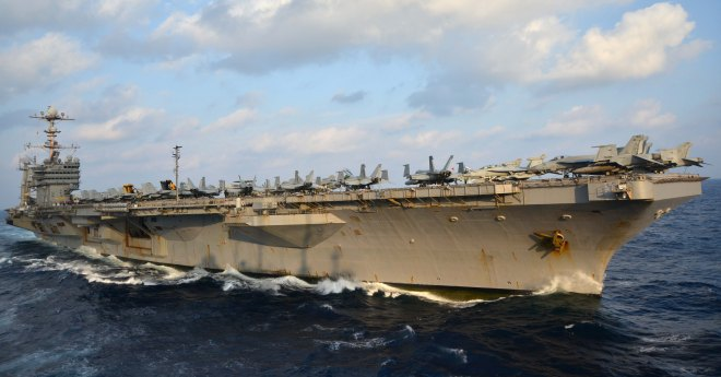 House Preserves George Washington Carrier Refueling Plan