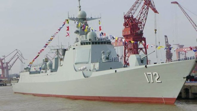 Can China's New Destroyer Find U.S. Stealth Fighters?