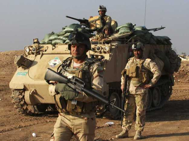 An undated photo of Iraqi Security Forces