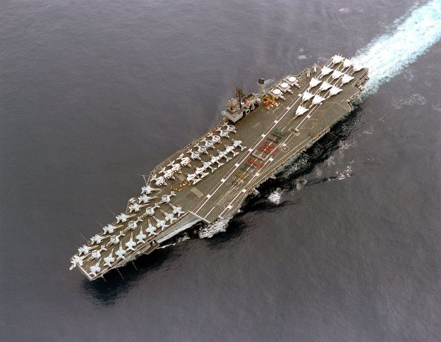 USS Constellation (CV-64). US Navy Photo