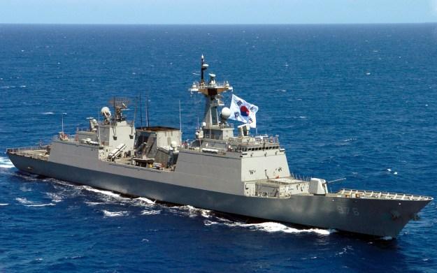 South Korean Navy destroyer Munmu the Great (DDH-976) in 2006. US Navy Photo