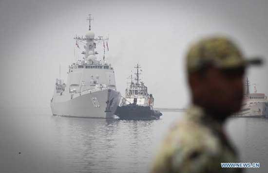 Chinese ship arrives in Bandar Abbas in September. PressTV Photo