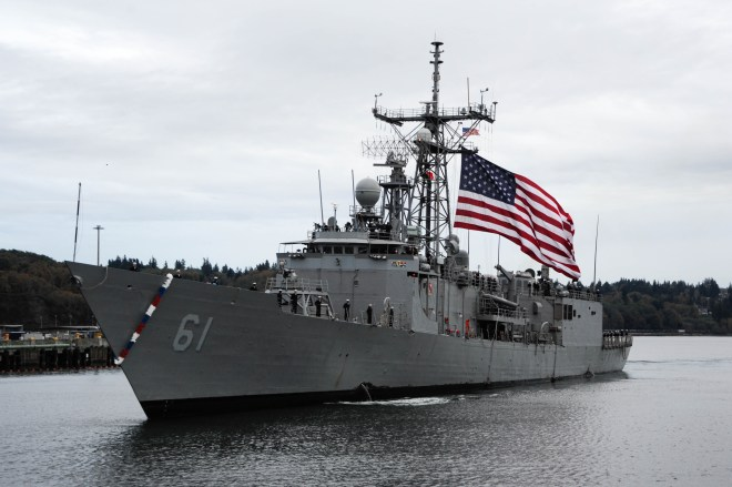Youngest U.S. Frigate Decommissioned, Remainder Will Leave Fleet in 2015