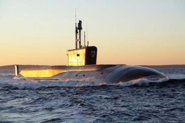 The Borei-class Vladimir Monomakh submarine. 'Rubin' Central Design Bureau