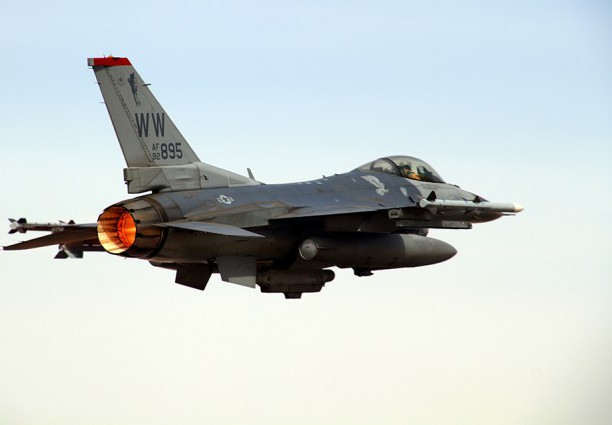 U.S. F-16 Pilot Killed in Middle East Crash