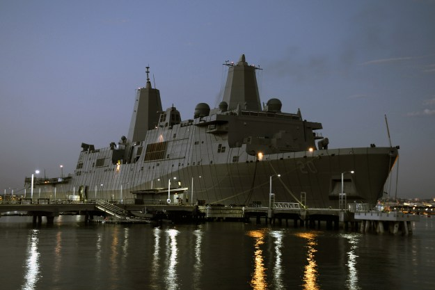USS Green Bay Ships Out for Japan