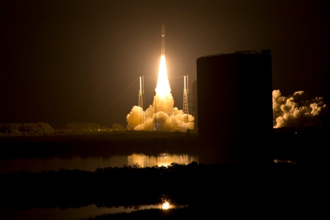Navy Next Generation Communications Satellite Launch Successful