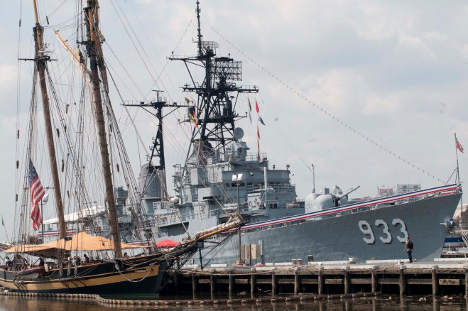 Washington Navy Yard to Dismantle Display Ship Barry By Next Summer, No Plans for Replacement