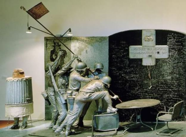 Portable War Museum by artist Edward Kienholz