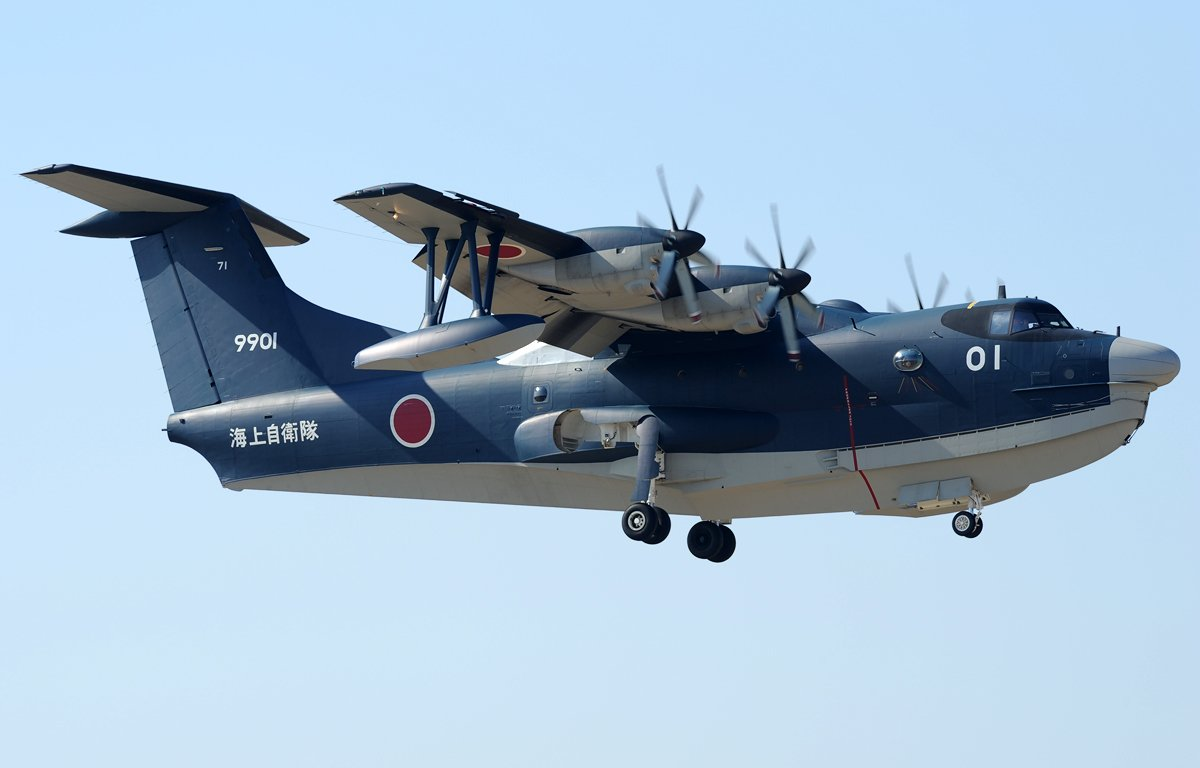 ShinMaywa US-2. Image via Wikipedia