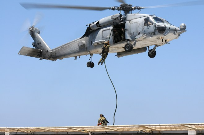 Congressman, Former SEAL Pushing to Keep Helicopter Combat Squadrons in Navy Budget