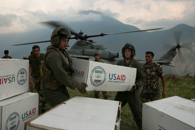 U.S. Disaster Relief Mission in Nepal Winding Down