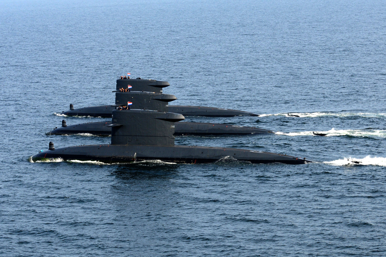 Dutch Walrus Class Submarines