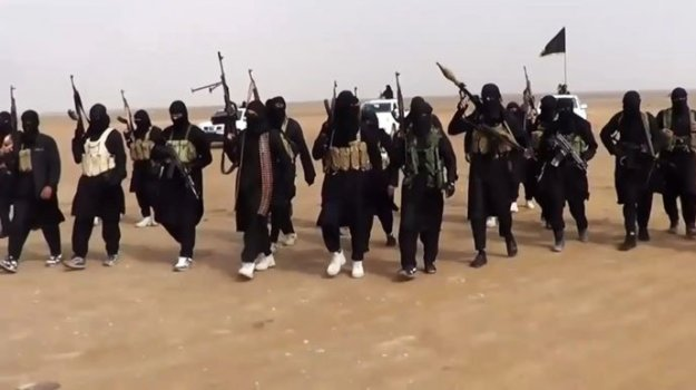 An image grab taken from a propaganda video uploaded on June 11, 2014 of ISIS. Photo via AFP