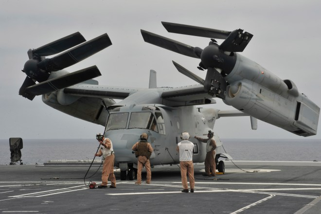 Japan Finalizes Purchase of 5 MV-22s in First International Osprey Sale