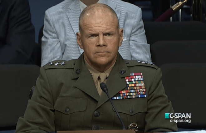 Neller Addresses F-35, Operations In Iraq During SASC Nomination Hearing