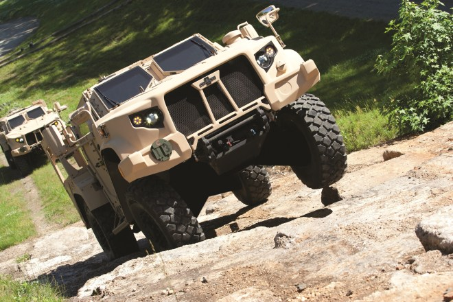 Army, Marine Corps Pick Oshkosh to Build Humvee Follow-on in $6.75B Contract Award