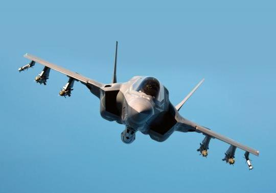 Davis: F-35B External Weapons Give Marines 4th, 5th Generation Capabilities in One Plane