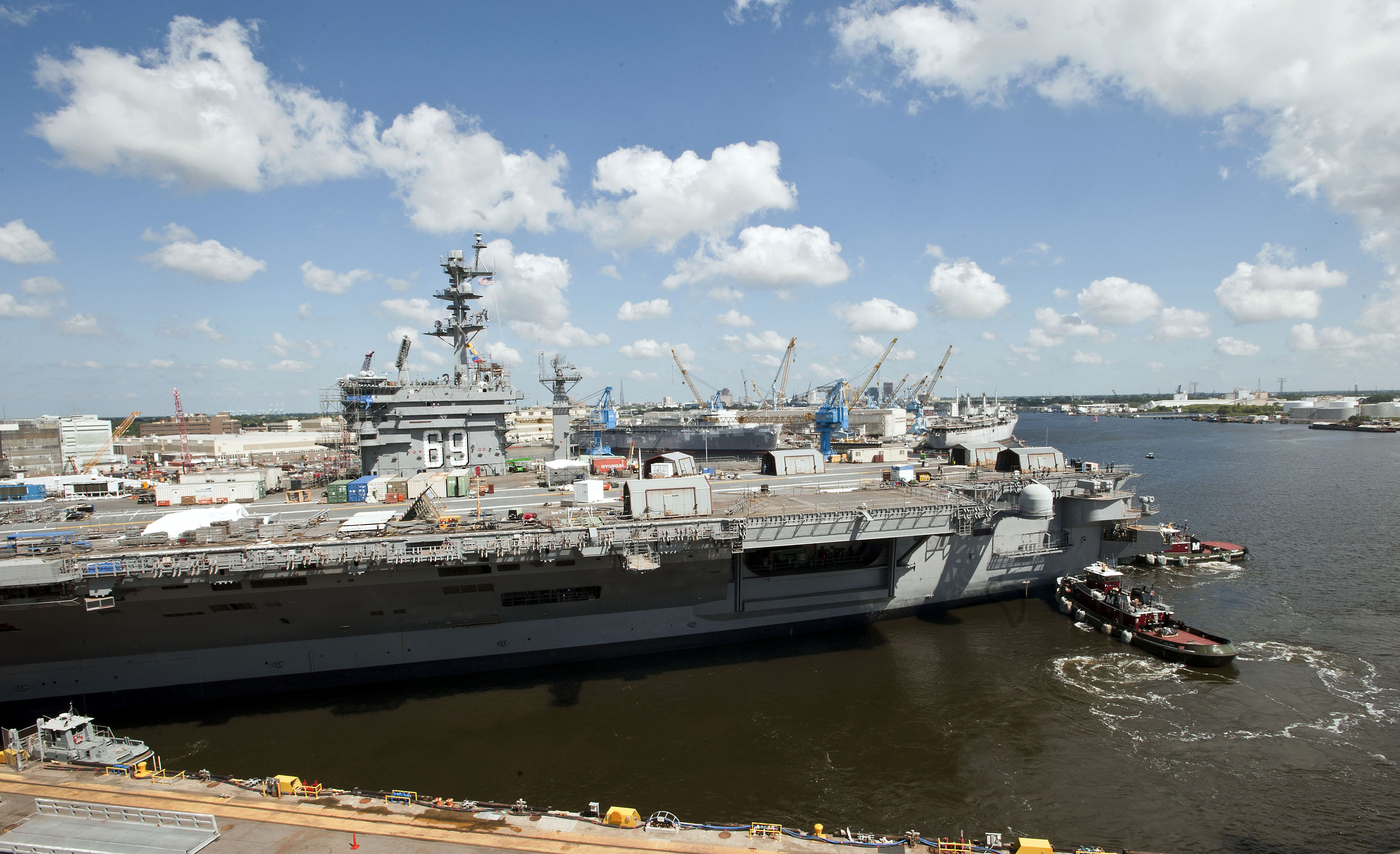 Admirals Fleet Readiness Plan Could Leave Carrier Gaps