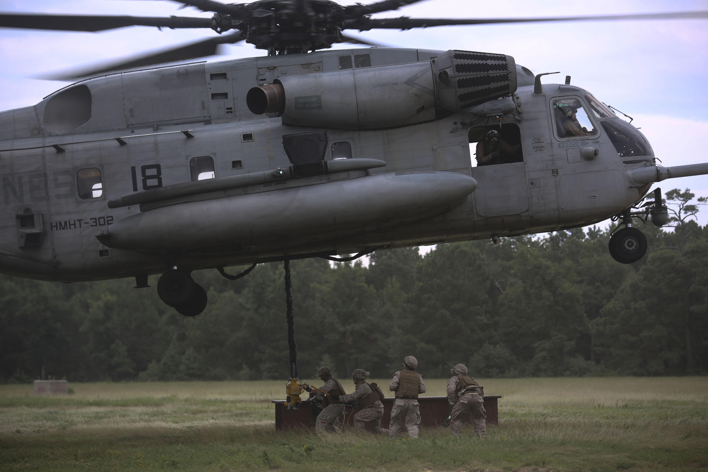 Updated marine killed 9 injured following super stallion hard
