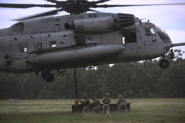 UPDATED: Marine Killed, 9 Injured Following Super Stallion 'Hard Landing' at Camp Lejeune