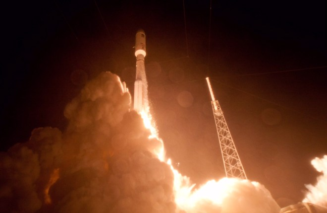 Video: Navy Successfully Launches Next MUOS-4 Generation Communication Satellite