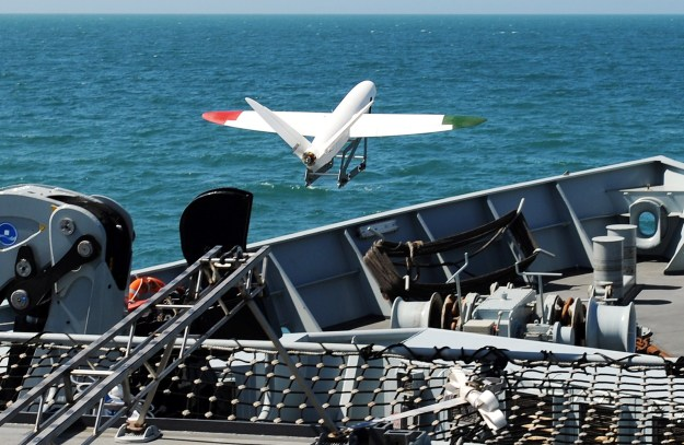 A 3D printed aircraft has successfully launched off the front of a Royal Navy warship and landed safely on a Dorset beach off HMS Mersey. UK Royal Navy Photo