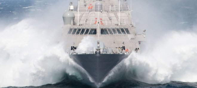 Freedom-Class Littoral Combat Ship Milwaukee Delivers to Navy