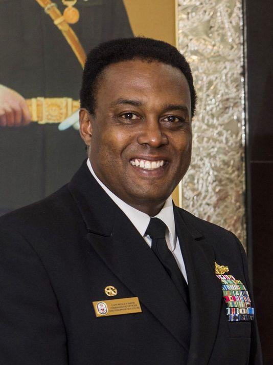 Capt. Wesley Smith. US Navy Photo